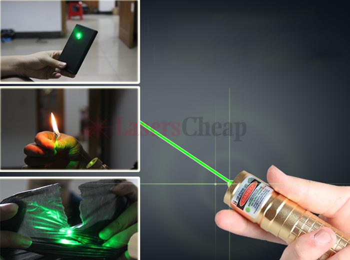 レーザーポインター 超高出力緑色