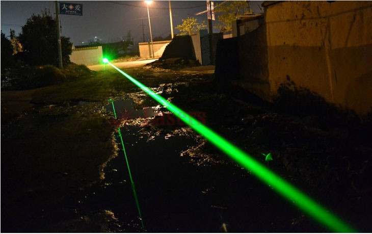 5000mW レーザーポインター 緑色
