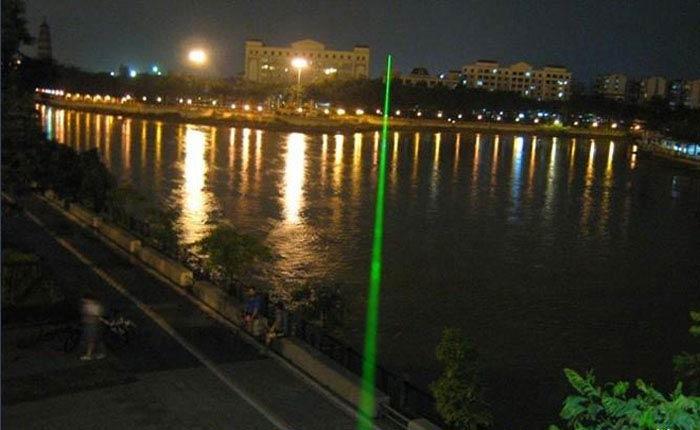 防水100mwグリーンレーザーポインター