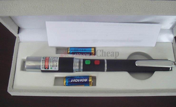 レーザーポインター 2色の通販