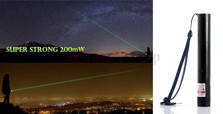200mw高出力レーザーポインター