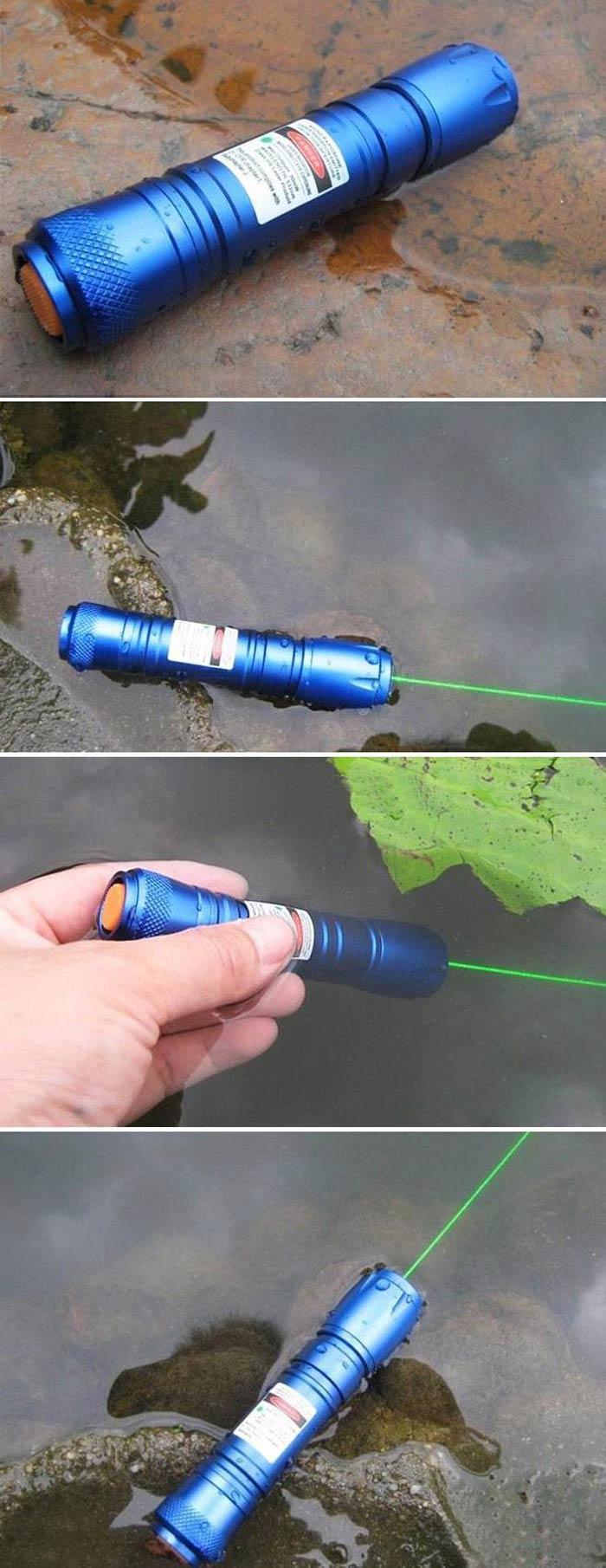 防水 グリーンレーザーポインター