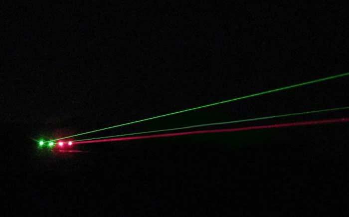 ペン型レーザーポインター10mw