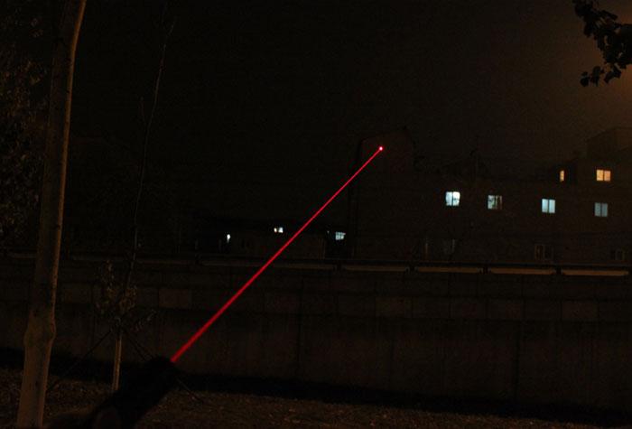 強力200mw赤色レーザーポインター