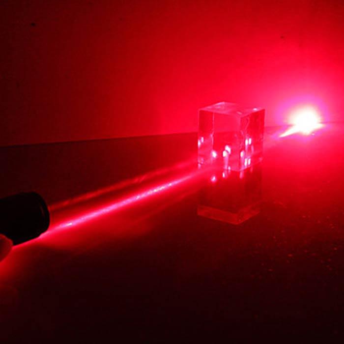 ハイパワー赤色レーザーポインター