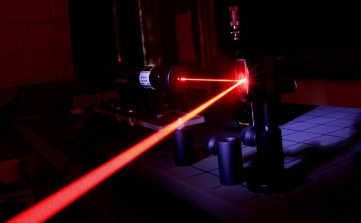 3000mw赤色レーザーポインター