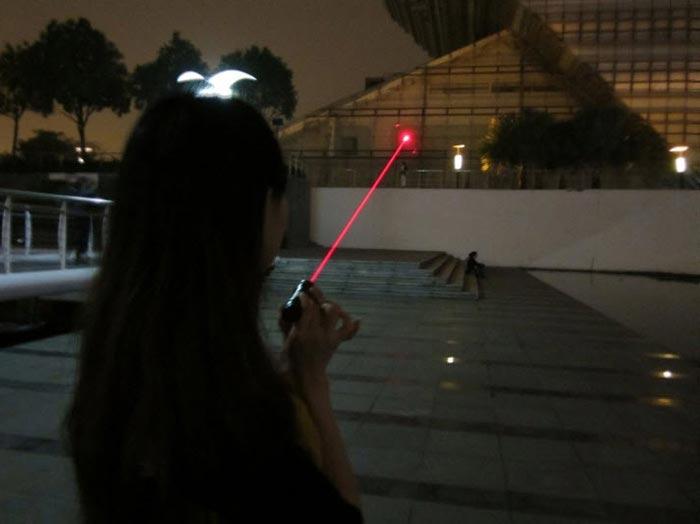 防水レーザーポインター赤色