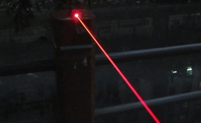 防水レーザーポインター 500mW