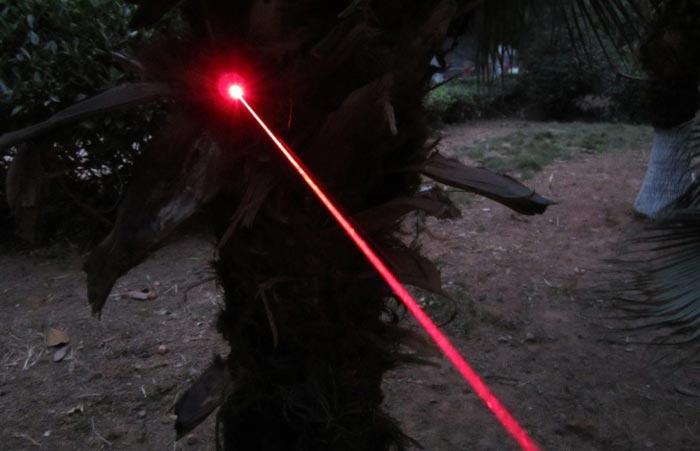 レーザーポインター赤色防水