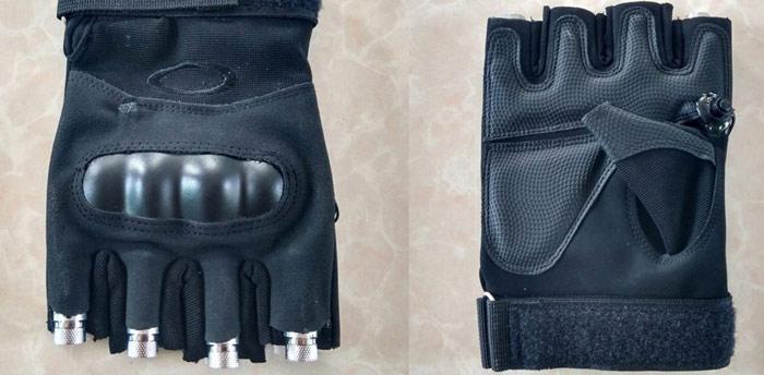 Djレーザー40条線手袋