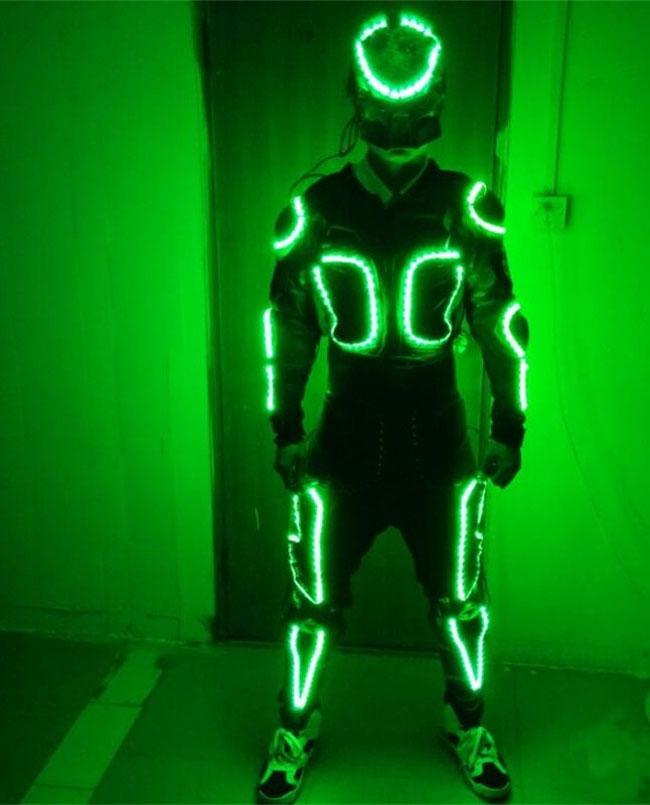 七色LED発光舞台衣装