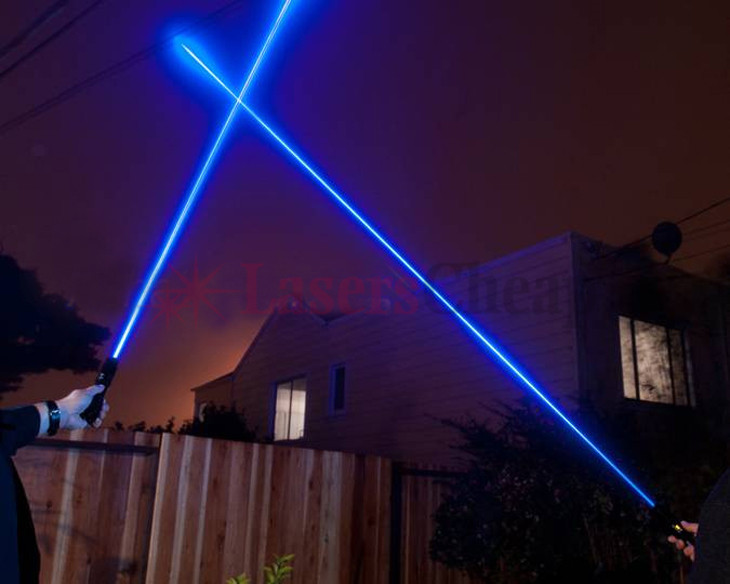 青色レーザーポインター ブルー5in1
