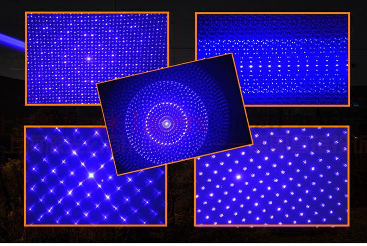 青い超高出力レーザーポインター