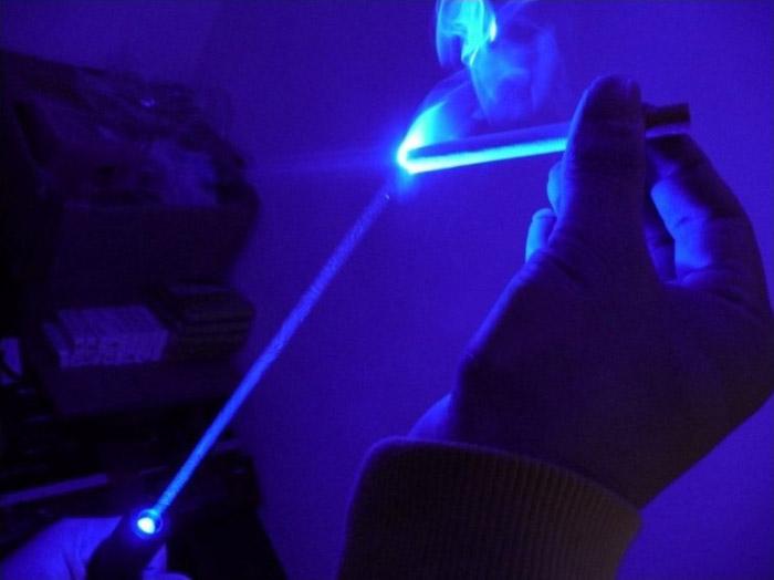 青色30000mwレーザーポインター