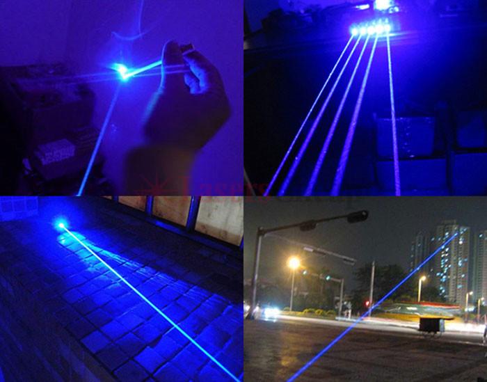 レーザー ポインター5500mw青色
