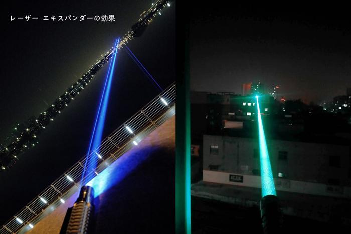 強力レーザーポインター