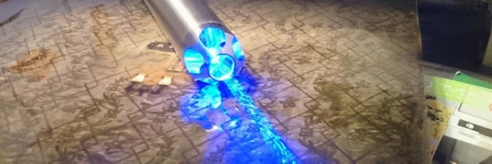 レーザーポインター青色