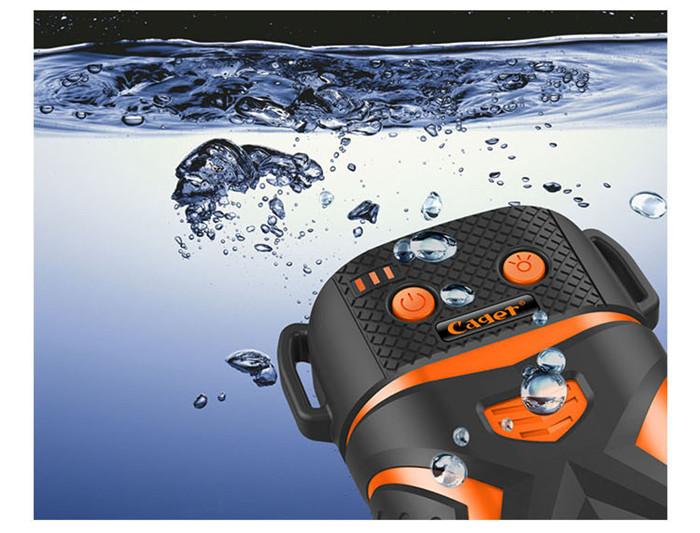 防水レーザーモバイル電源
