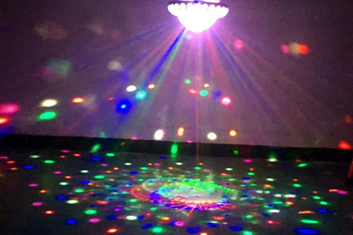 DJ舞台照明ライト