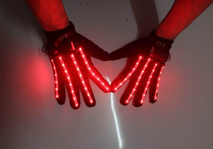 LED光るグローブ手袋
